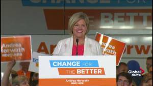Ontario Election: Andrea Horwath full speech after being named Official Opposition