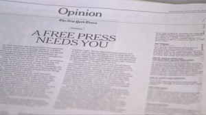 Hundreds of U.S. newspapers denounce Trump's attack on media