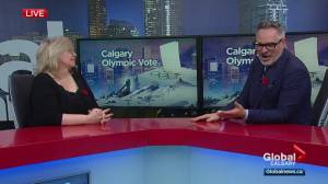 What does Calgary's Olympic advance polling turnout mean for the bid's future?