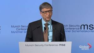 Bill Gates offers strong warning about threats of bio-terrorism (00:45)