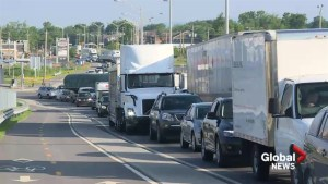 Traffic chaos hampers Montreal drivers