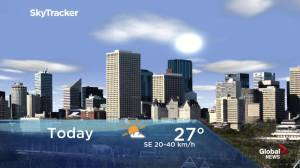 Edmonton early morning weather forecast: Monday, June 17, 2019