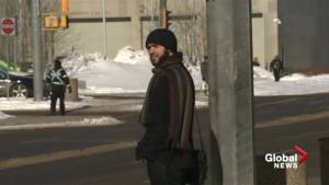 Omar Khadr heads into court in Edmonton