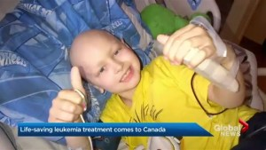 Potentially life-saving leukemia treatment comes to Canada