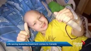 Potentially life-saving leukemia treatment comes to Canada
