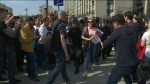 Protesters arrested ahead of Putin's inauguration
