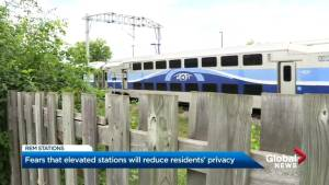 West Island residents concerned about elevated REM train stations