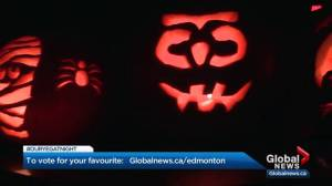 Our YEG At Night: Global News personalities carve pumpkins