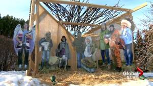 'Provocative' Calgary nativity scene hopes to spark discussion (01:49)