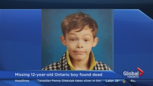 Update on death of 12-year-old Dundas boy