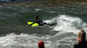 River surfing project making waves in downtown Calgary