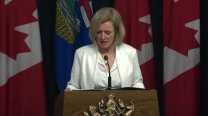 Rachel Notley says Trans Mountain opponents can't hold economy hostage