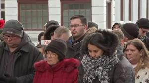 Moment of silence held in Aurora for victims of Henry Pratt Company shooting