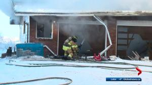 North Edmonton House Fire