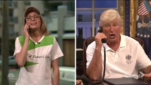 Alec Baldwin's Donald Trump returns in SNL season debut