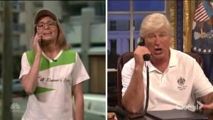 Alec Baldwin's Donald Trump returns in SNL season debut