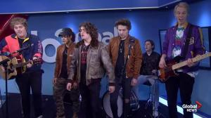 Panicland on Global News Morning with new single 'Wasted'