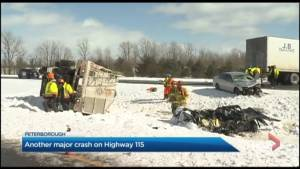 Cavan Monaghan wants safety addressed along stretch of Highway 115