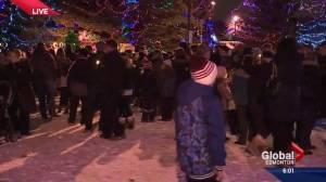 Vigil held in Spruce Grove to honour Ryder and Radek MacDougall