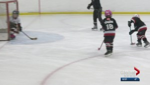 Highlights from Calgary's all-girl Timbits Hockey Tournament