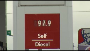 Gas prices fall below $1/litre in Peterborough area