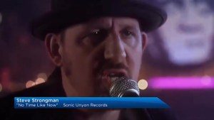 Blues singer/ songwriter Steve Strongman visits The Morning Show