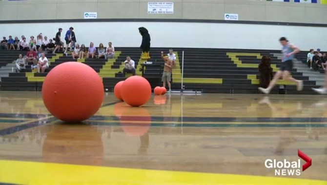 Kelowna dodgeball tournament brings school district together