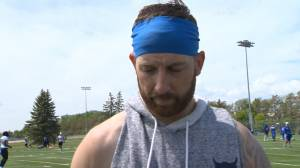 RAW: Blue Bombers Matt Nichols Interview – June 11