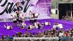 Dads surprise cheerleading daughters with their own routine