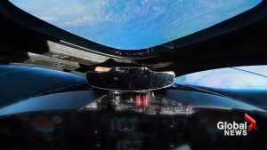 Virgin Galactic 'SpaceShiptTwo' reaches space during test flight