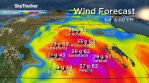 Saskatoon weather outlook warm weather comes with wild wind