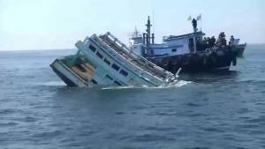 Thailand sinks last batch of illegal fishing boats
