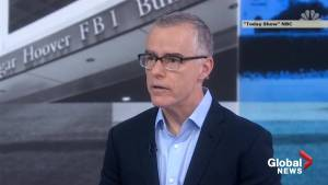 Andrew McCabe: Trump threats have been 'horiffic'
