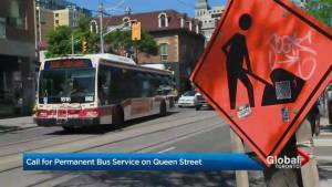 Could TTC buses permanently replace Queen Street streetcars?