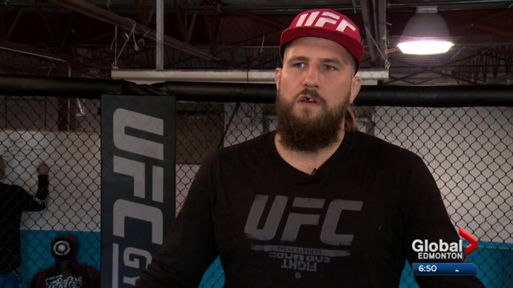 Click to play video: 'Alberta fighter finds out his UFC fight in Edmonton has been cancelled'