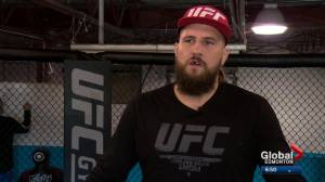 Alberta fighter finds out his UFC fight in Edmonton has been cancelled