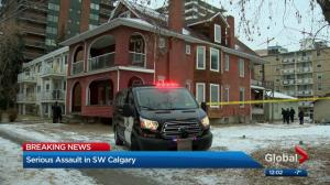 Calgary police investigate serious assault in downtown Calgary