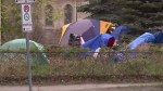 Homeless seek safety on Winnipeg's All Saints' Anglican Church grounds