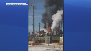 Fire at Syncrude oil site north of Fort McMurray
