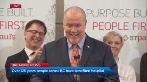 New St.Paul's Hospital will be state of the art and serve all of B.C.
