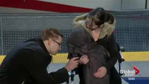 Calgary boy, 4, who hopped on train alone re-united with frantic parents