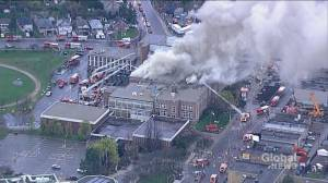 Fire at Toronto school prompts evacuations in area
