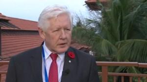 Trudeau has 'candid exchange' with Myanmar's leader over Rohingya crisis: Bob Rae