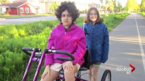A Richmond girl with autism gets a new bike