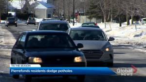 Pierrefonds drivers navigate pothole season