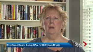 Ontario manufacturing company employee alleges she was docked pay for restroom breaks