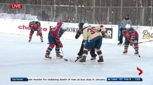 2018 World's Longest Hockey Game at Saiker's Acres underway