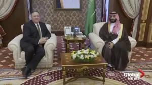 Pompeo visits Saudi Arabia as U.S.-Iran tensions mount