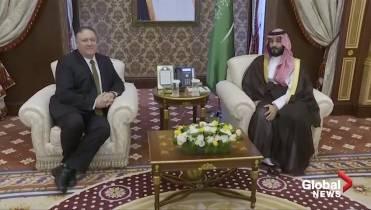 U S  to send troops to Saudi Arabia amid tensions with Iran