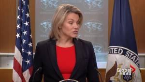 U.S. State Department urges Canada, Saudi Arabia to resolve dispute